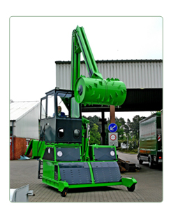 London Waste Technology(LWT) - Roll-packer Mobil-Jumbo RP 7700M